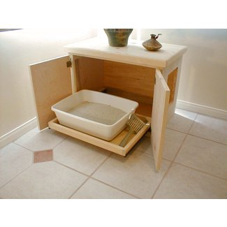 Furniture Cat Litter Box Cabinet Ideas On Foter