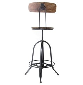 Industrial Swivel Bar Stools Foter