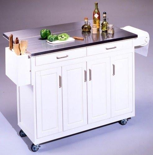 Kitchen Island Cart With Breakfast Bar 1