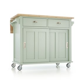 Kitchen Cart Drop Leaf - Foter