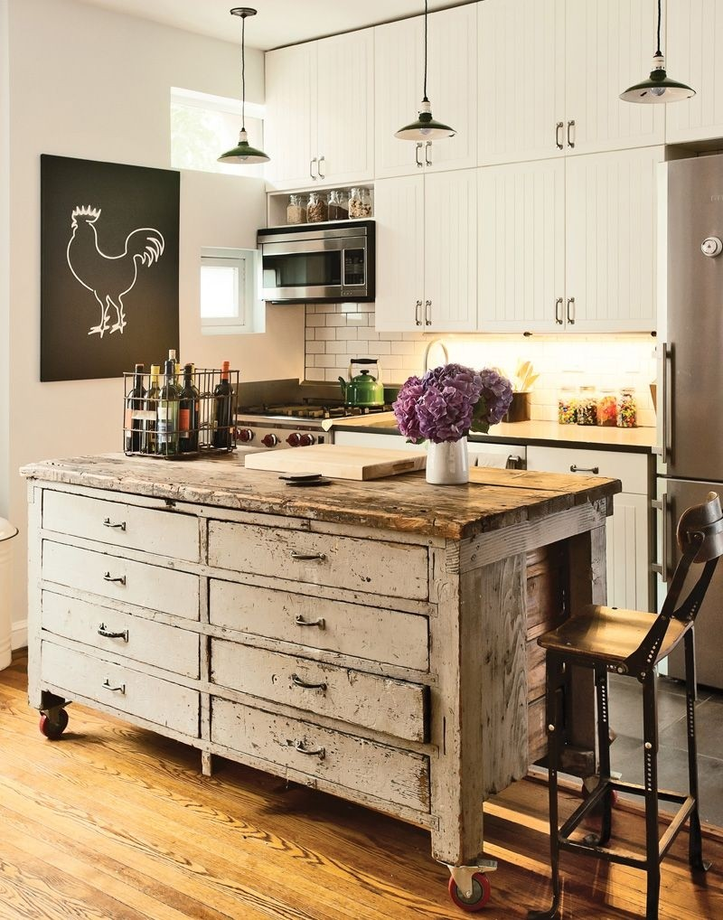 Great Kitchen Islands With Wheels