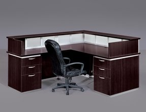 l office desk. L Shaped Glass Desk With Drawers 1 Office I