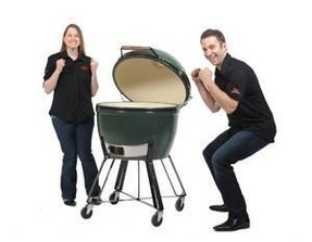 Large barbecue grills