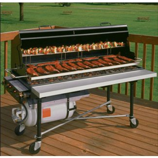 Large charcoal barbecue grills 2