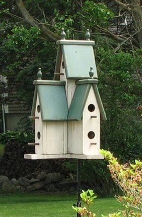 Large outdoor bird houses 1