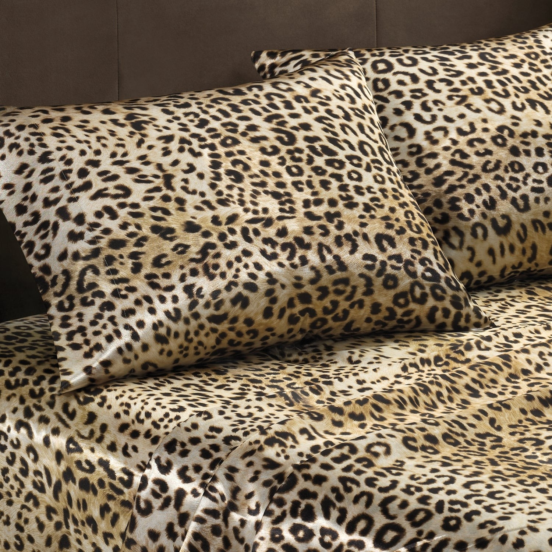 Leopard Print Comforter Set