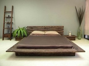 Low profile king bed 1