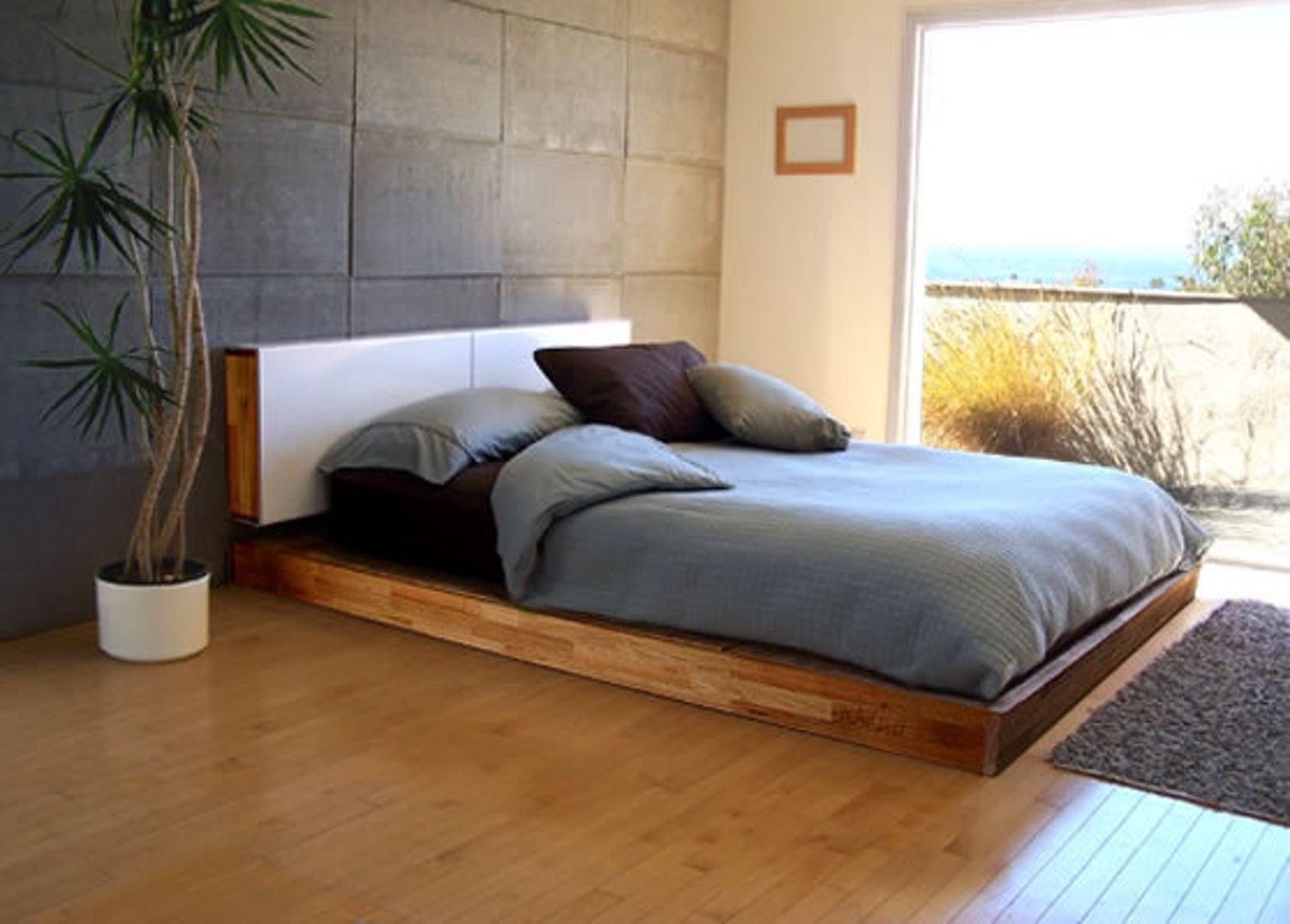 Low profile king bed 6