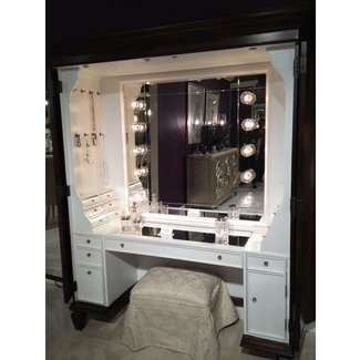 Makeup Vanity.50 Best Makeup Vanity Table With Lights Ideas On Foter