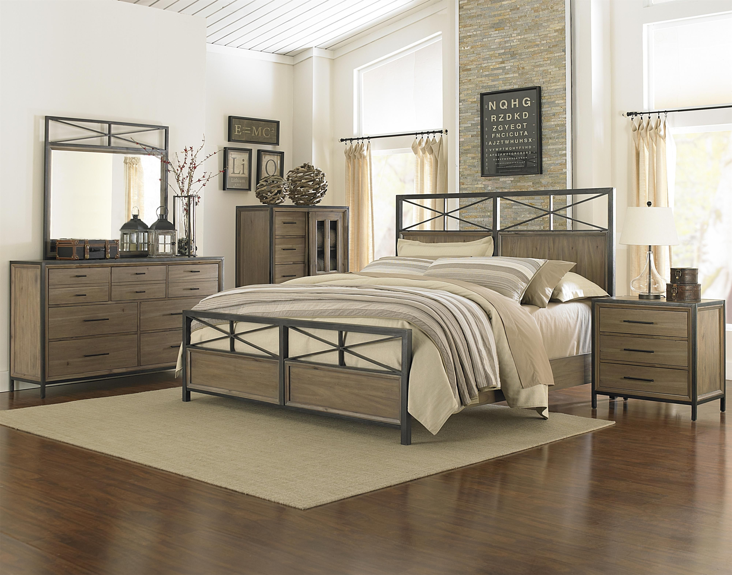 Superbe Metal And Wood Bedroom Sets 15