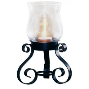 Metal hurricane candle holder 27
