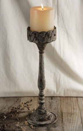 Metal hurricane candle holder 9