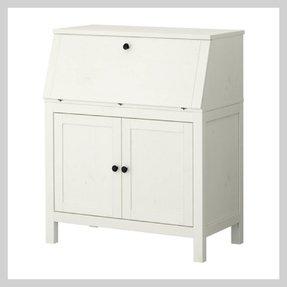 Small secretary desks for small spaces foter - Ikea bureau secretaire ...