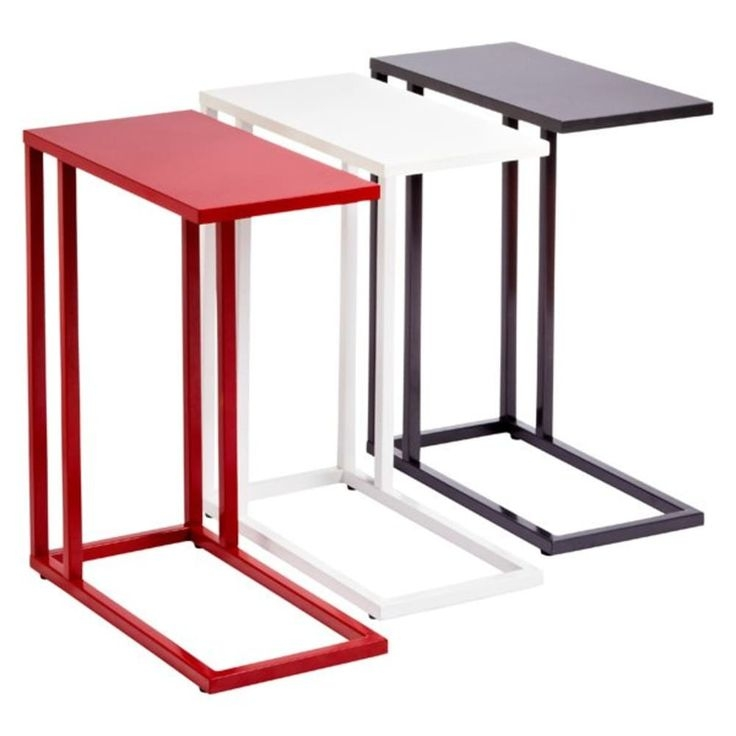 This C Table Serves As A Tray Near The Sofa Or Armchair And It Can Also  Have Many Other Applications. It Features A Durable Construction That ...