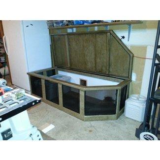 Outdoor Cat Litter Box Enclosure