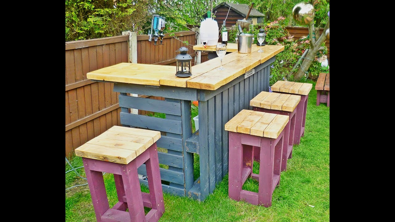 Outdoor Pool Bar Furniture