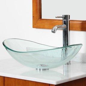 00227f458dd Oval Glass Vessel Sink - Ideas on Foter