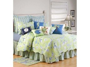Palm tree bedspread sets