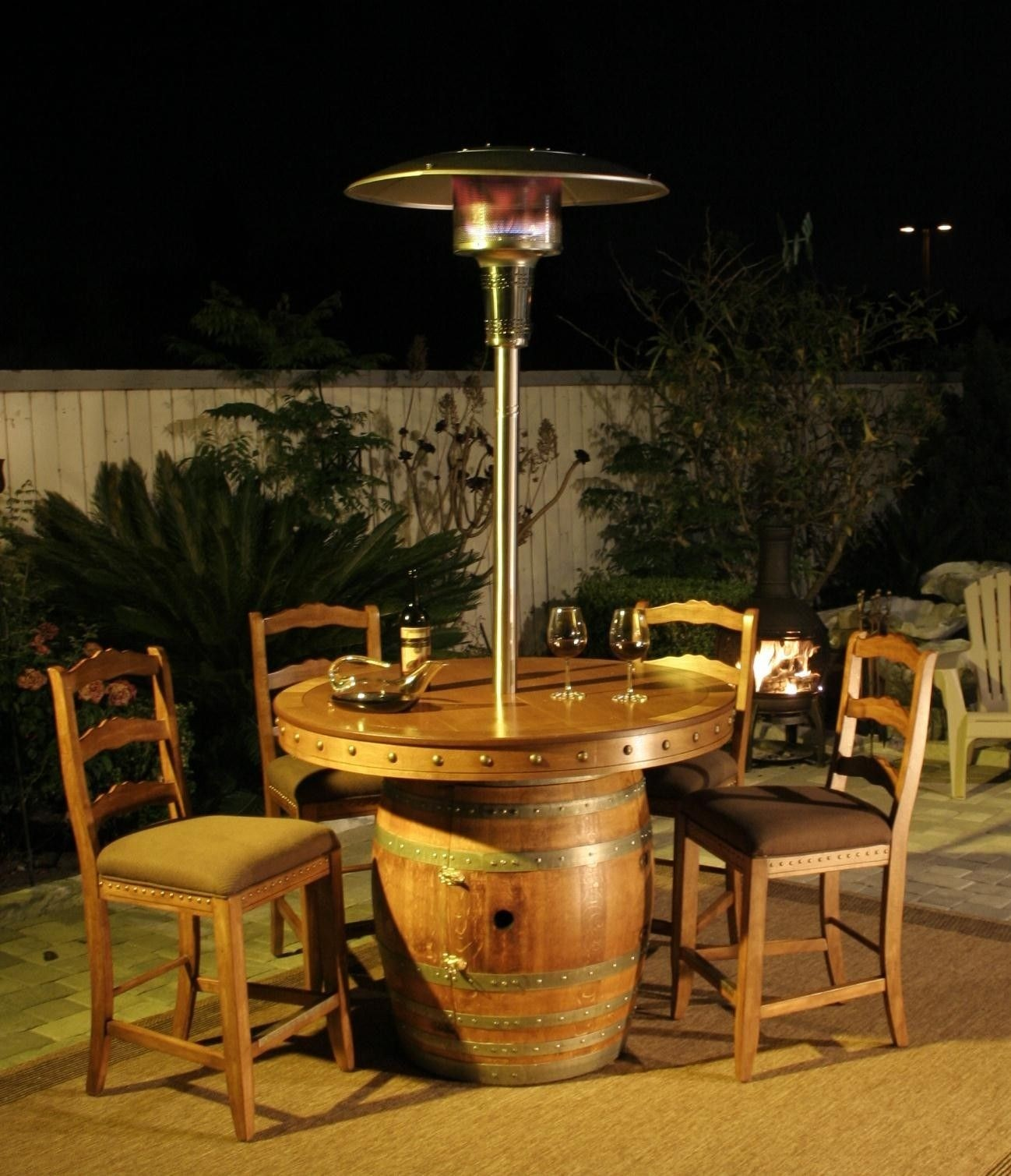 patio heater with table foter rh foter com tabletop patio heater patio table heaters propane