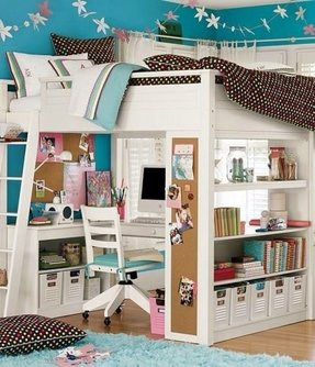 Pottery Barn Loft Bed With Desk