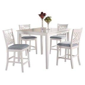 white pub table sets foter. Black Bedroom Furniture Sets. Home Design Ideas