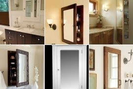 Delicieux Recessed Wood Medicine Cabinets With Mirrors