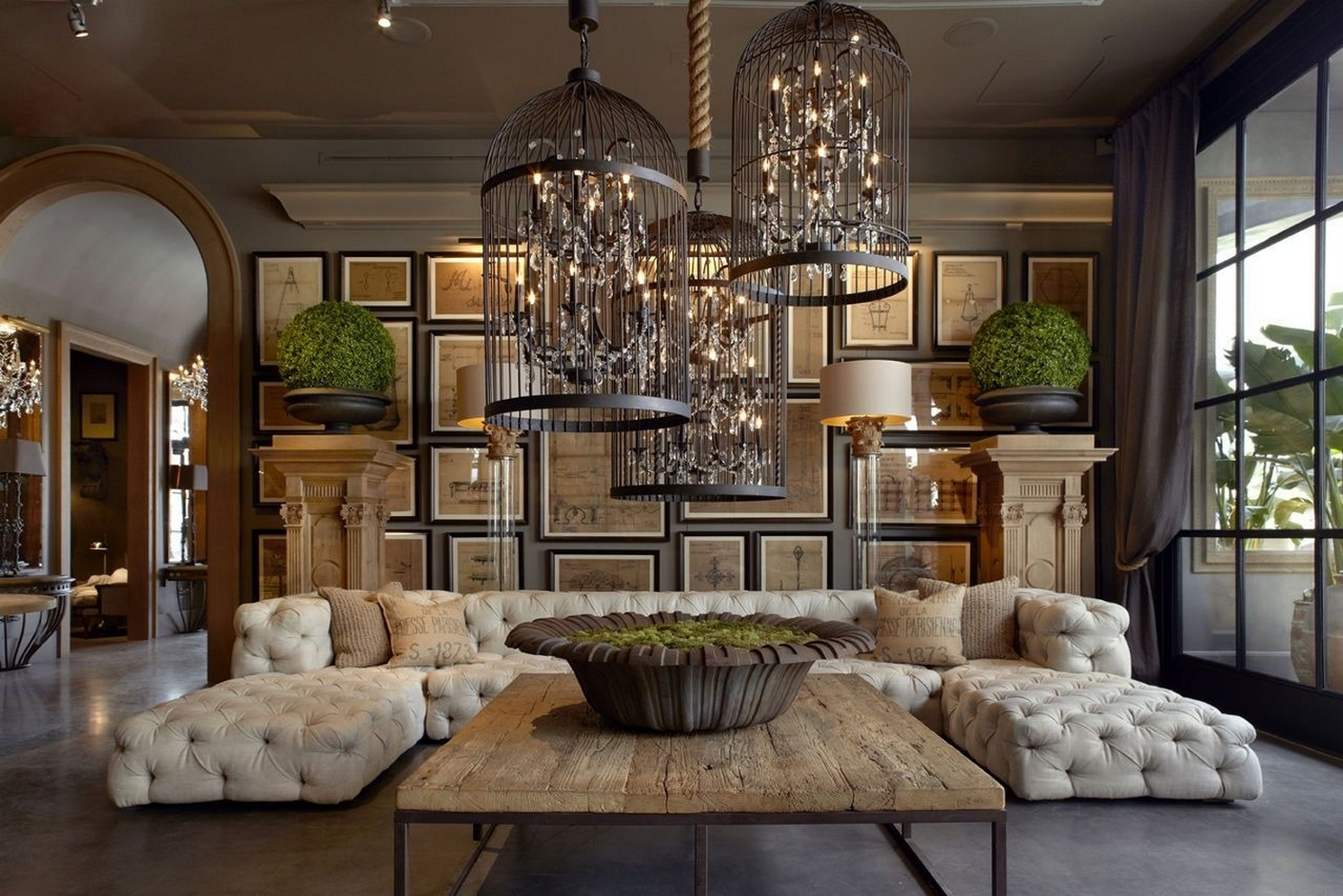 Elegant Restoration Hardware Soho