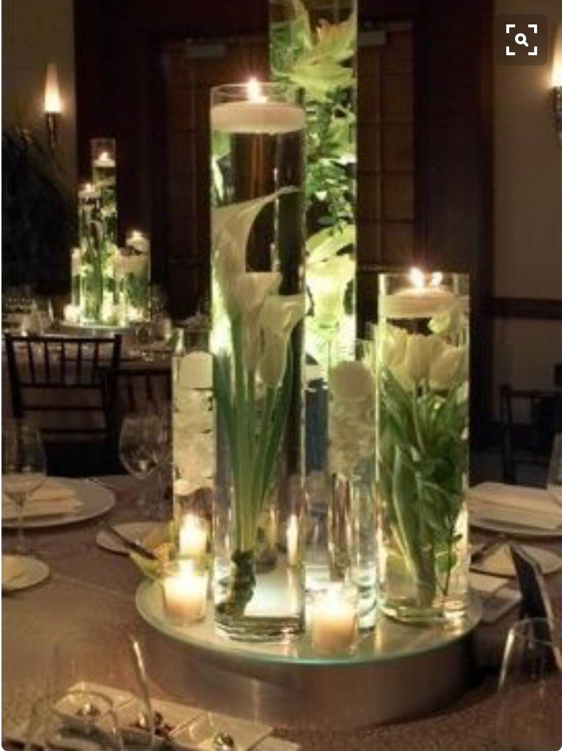 Silk Flower Centerpieces For Tables 2