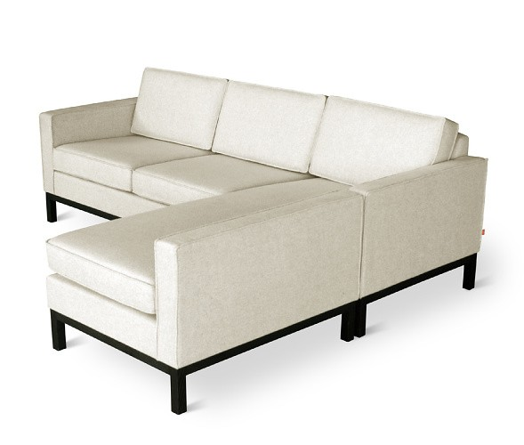 Small Scale Sectional Sofa Foter