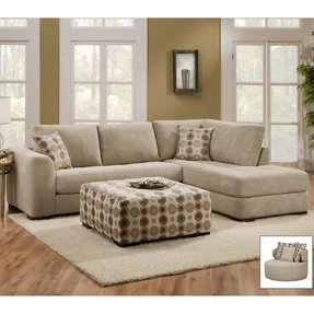 Small Scale Sectional Sofa 4