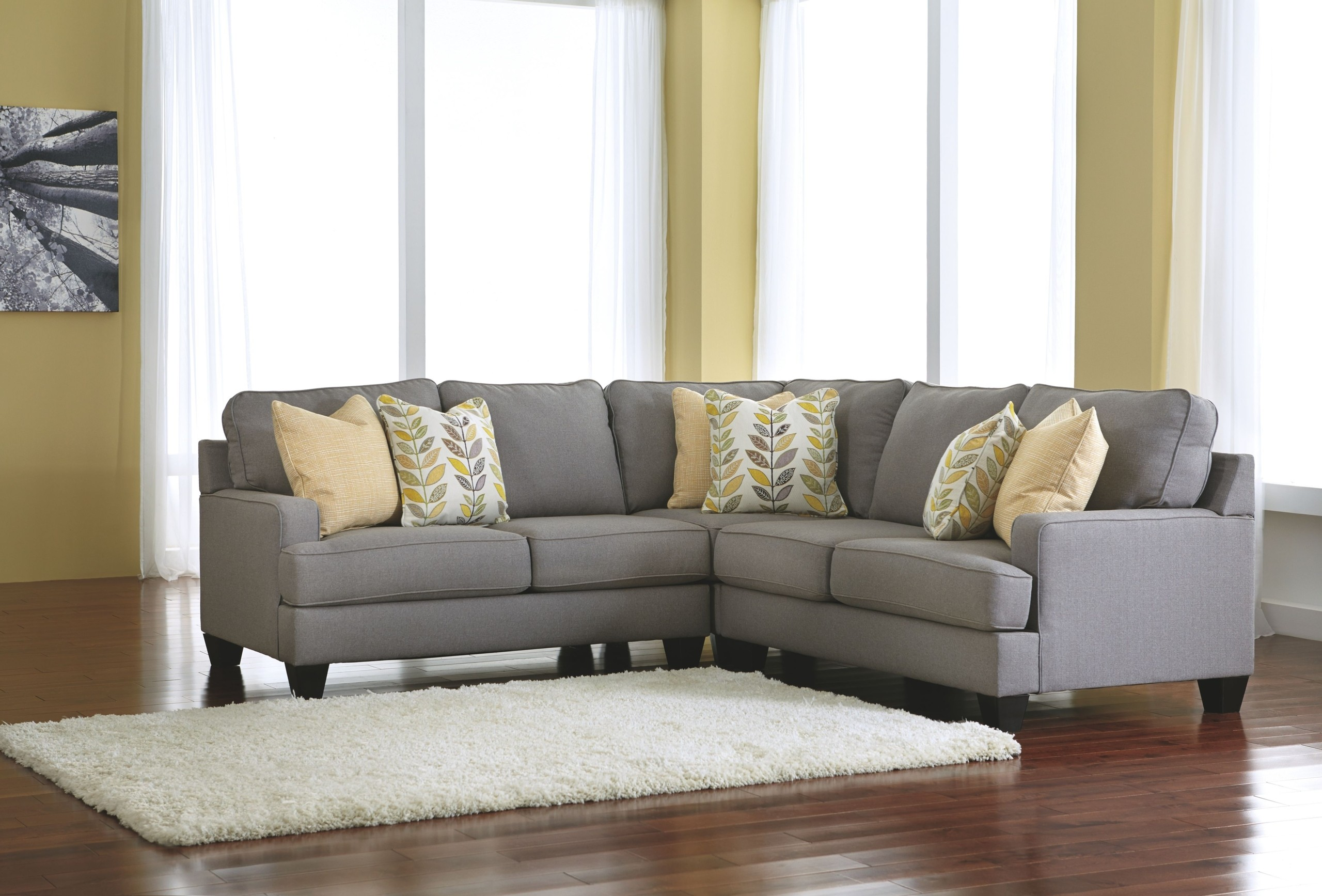 Small Scale Sectional Sofa 6