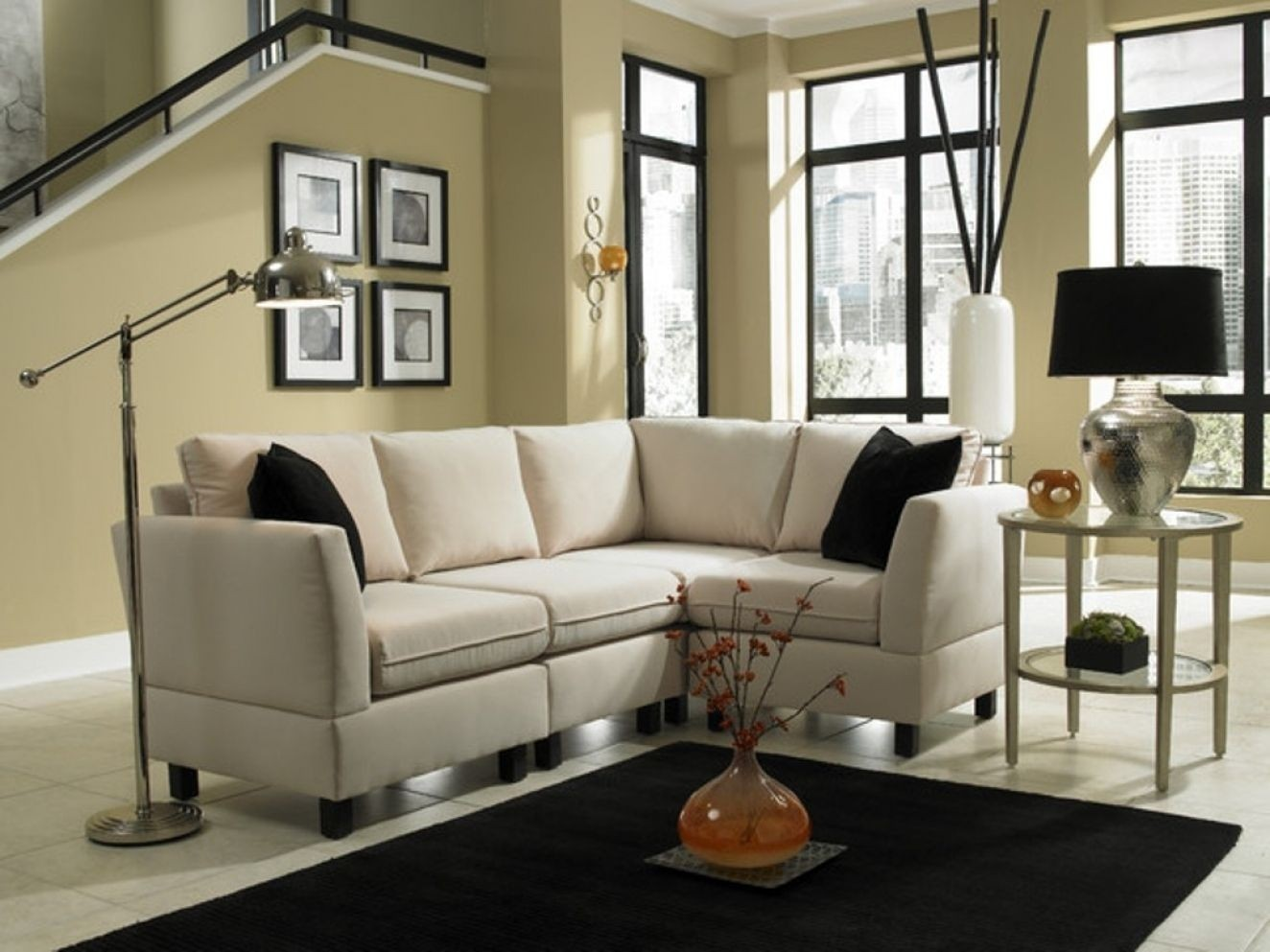 Charmant Small Scale Sectional Sofa   Ideas On Foter