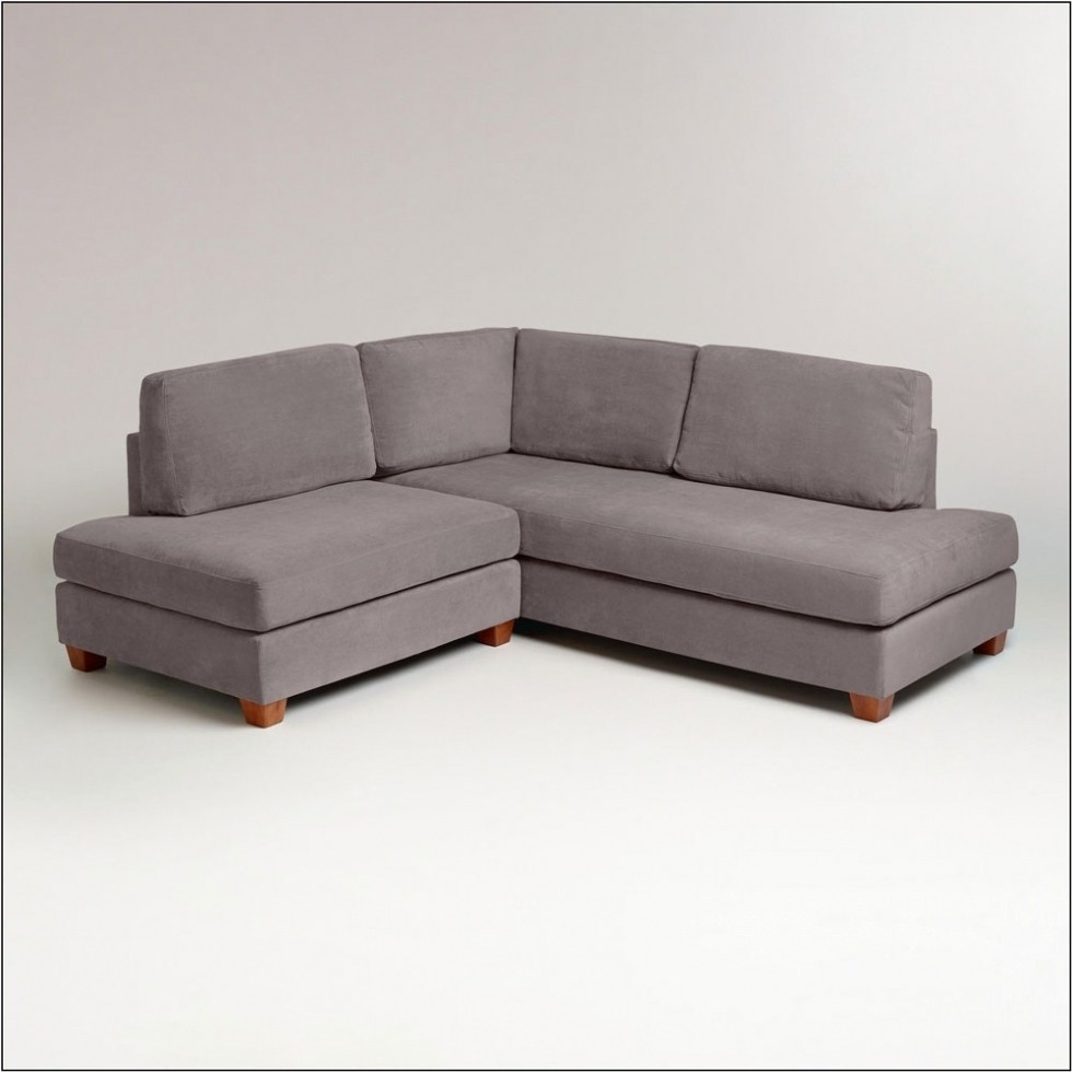 Small Sofas For Small Spaces Wyatt Sectional Sofa World Market