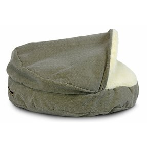 Snoozer pet products cozy cave luxury hooded dog bed 11