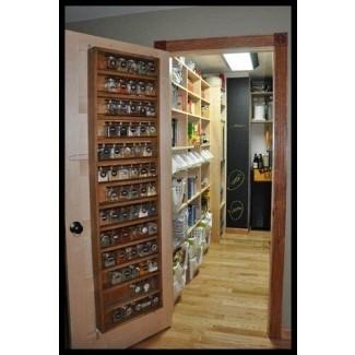 Spice Rack Inside Pantry Door