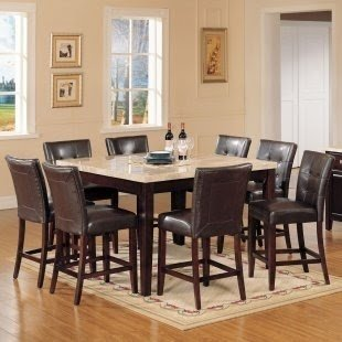 Square Dining Room Table Seats 8 3