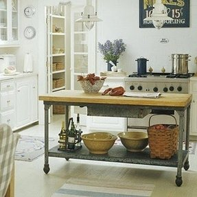 Storage kitchen table