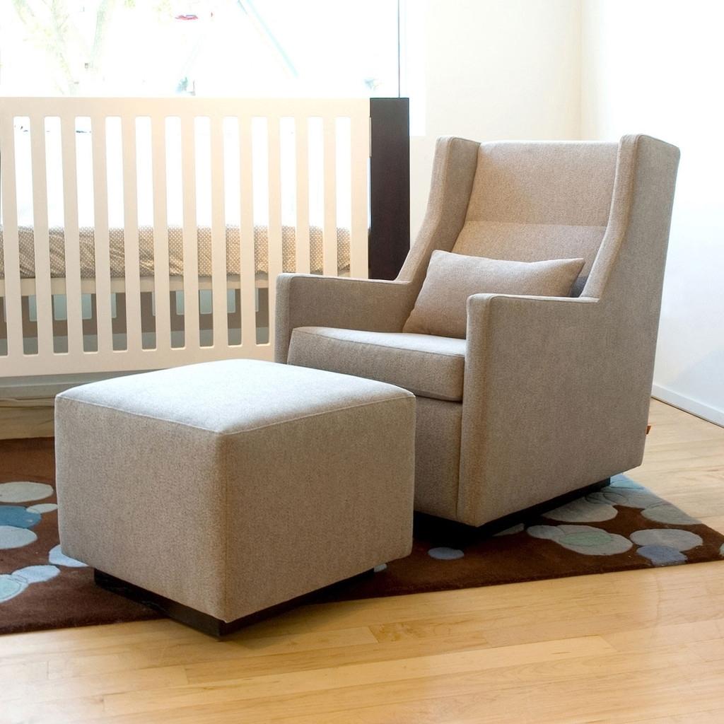 Great Swivel Glider Rocker Chair With Ottoman Idea