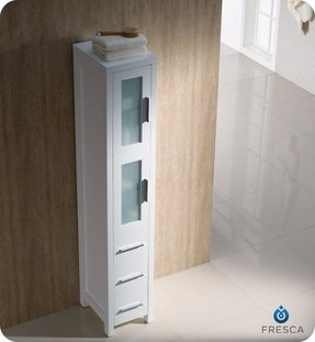 Tall Linen Cabinets For Bathroom 1