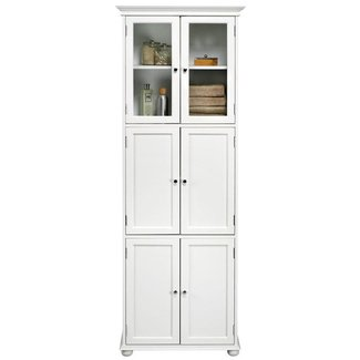 Tall Linen Cabinets For Bathroom 5