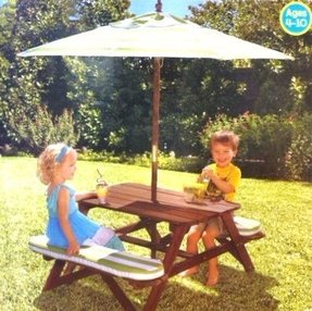 Kids Table And Bench Set Foter