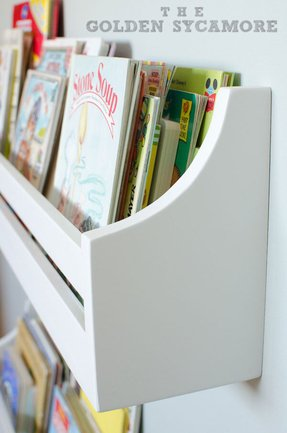 Wall mounted bookshelves for kids 2