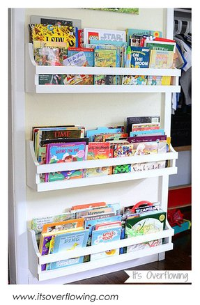 Wall Mounted Bookshelves For Kids
