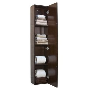 Wall mounted linen cabinet 12