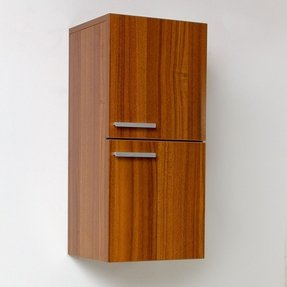 Wall mounted linen cabinet 24