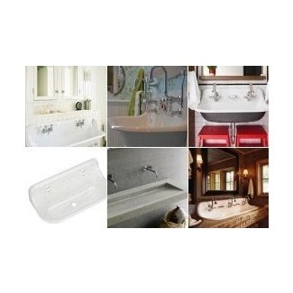 wall mounted trough sinks for bathrooms wall mounted trough sink foter 25835