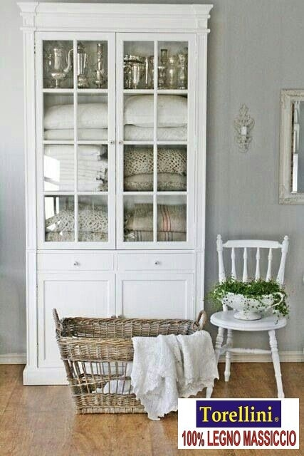White Bathroom Linen Cabinet 3