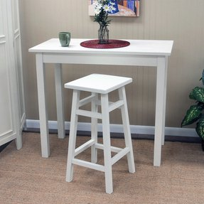 White Pub Table Sets Foter