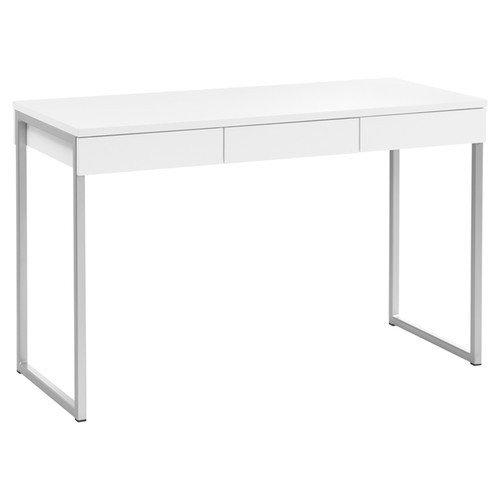 White Desk With Drawers. Brilliant White White Writing Desk With Drawers 4  Throughout Desk With