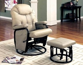Wildon home c2 ae gearhart glider rocker with ottoman